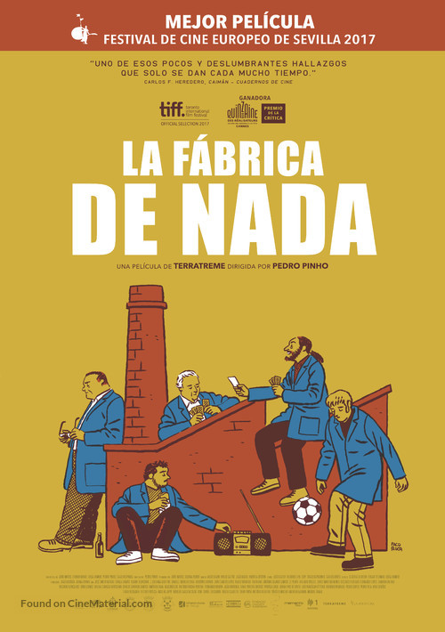 A Fábrica de Nada - Spanish Movie Poster