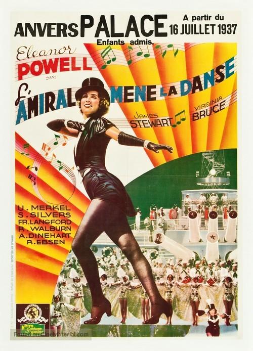Born to Dance - Belgian Movie Poster
