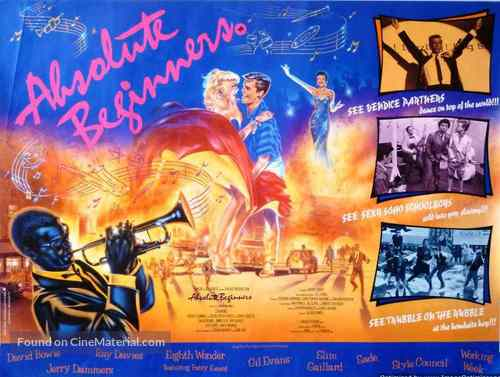 Absolute Beginners - British Movie Poster