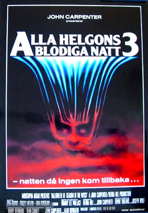 Halloween III: Season of the Witch - Swedish Movie Poster