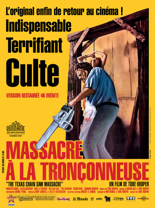 The Texas Chain Saw Massacre - French Movie Poster
