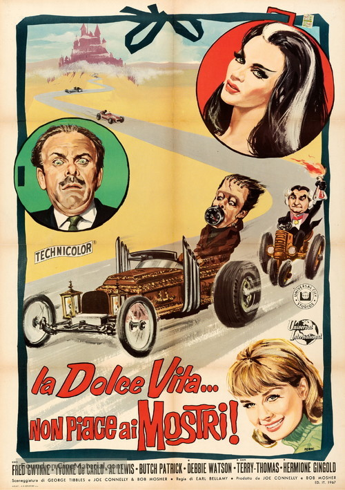 Munster, Go Home - Italian Movie Poster
