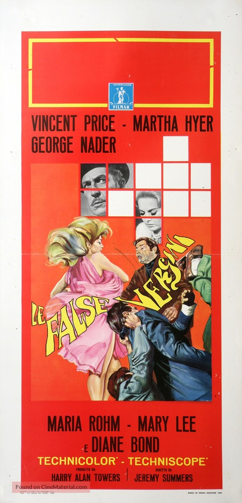La casa de las mil muñecas - Italian Movie Poster