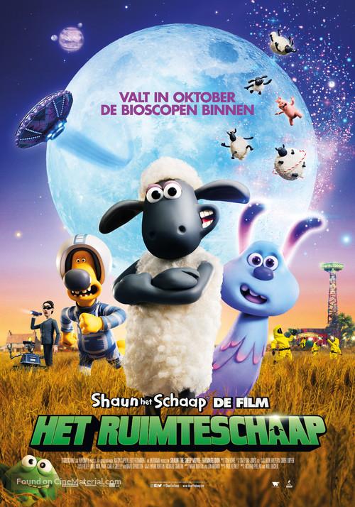 A Shaun the Sheep Movie: Farmageddon - Dutch Movie Poster