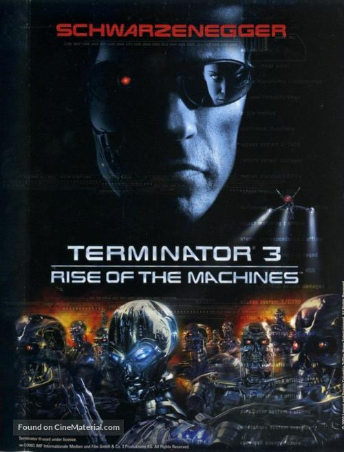 Terminator 3: Rise of the Machines - Movie Cover