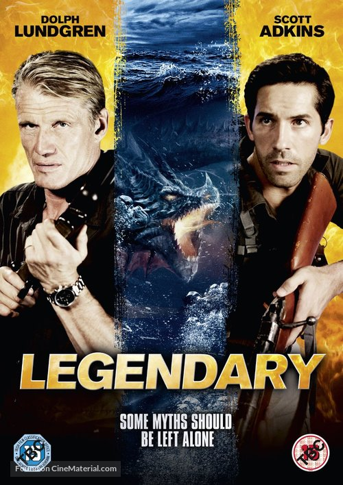 Legendary: Tomb of the Dragon - British DVD movie cover