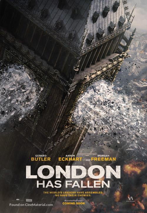 London Has Fallen - Canadian Movie Poster
