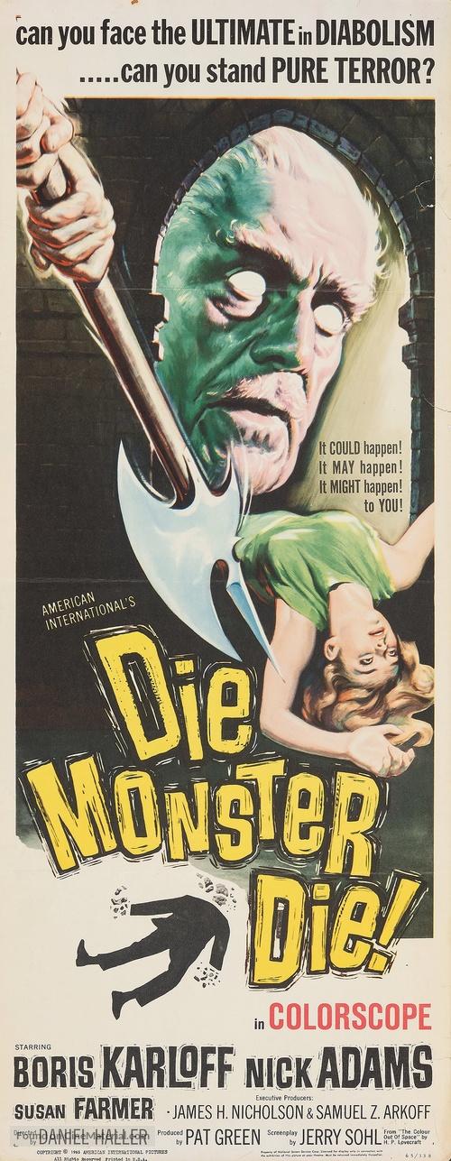 Die, Monster, Die! - Movie Poster