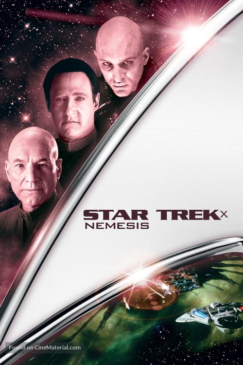 Star Trek: Nemesis - DVD movie cover