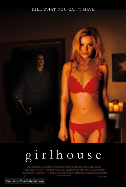 Girlhouse - Canadian Movie Poster