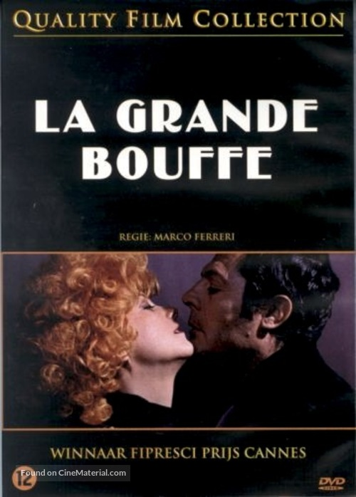 La grande bouffe - Dutch DVD movie cover