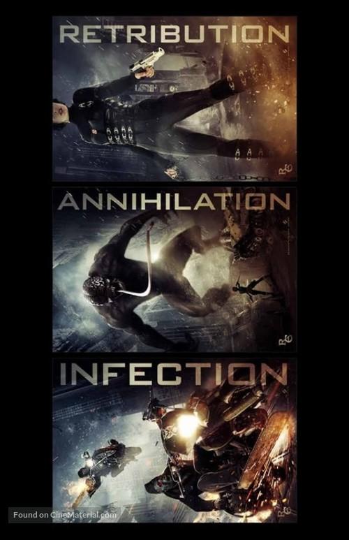 Resident Evil Retribution 2012 Movie Poster