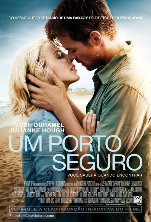 Safe Haven - Brazilian Movie Poster