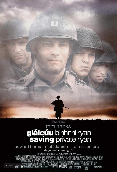 Saving Private Ryan - Vietnamese Movie Poster