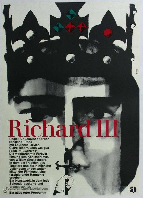 Richard III - German Movie Poster