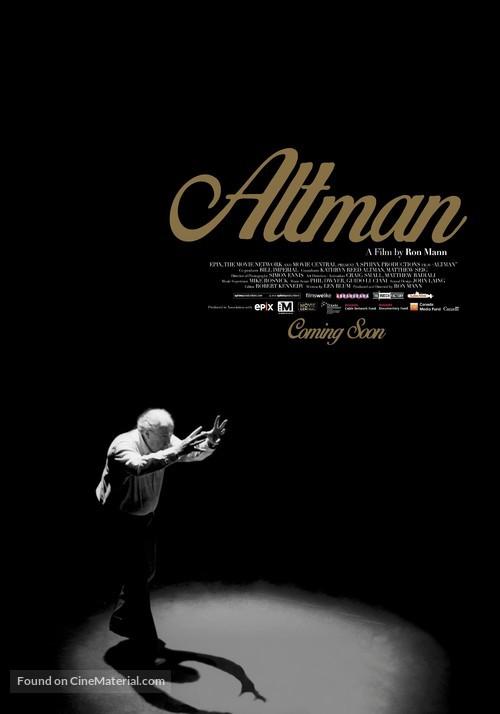Altman - Canadian Movie Poster