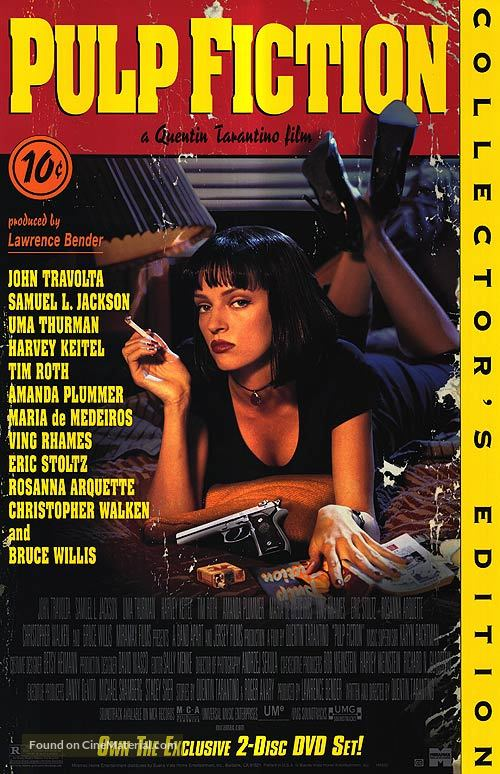 Pulp Fiction - Movie Cover
