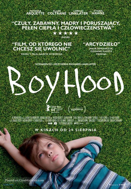Boyhood - Polish Movie Poster