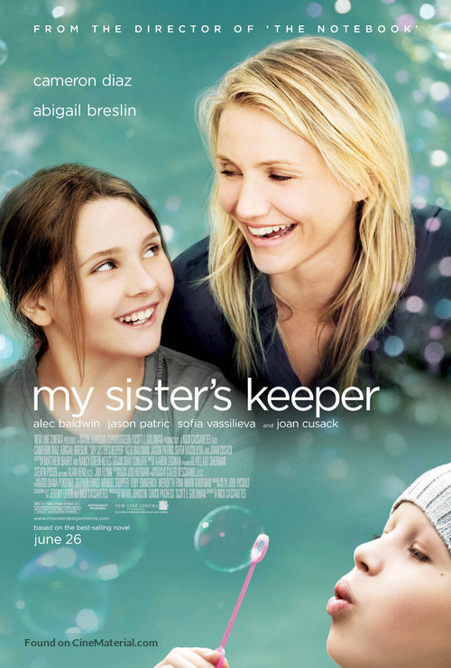 My Sister's Keeper - Movie Poster