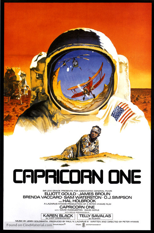Capricorn One - Movie Poster