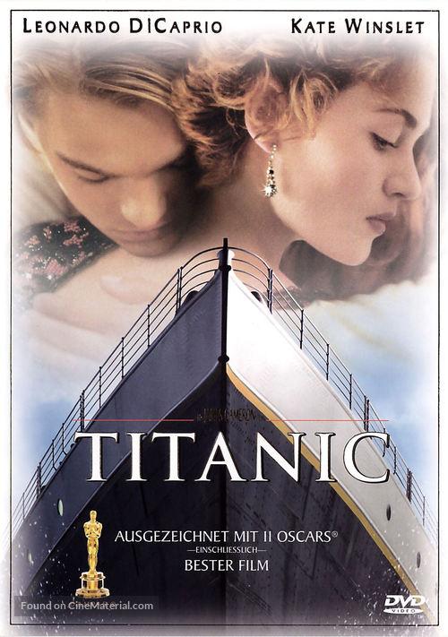 Titanic - German DVD movie cover