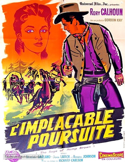 The Saga of Hemp Brown - French Movie Poster
