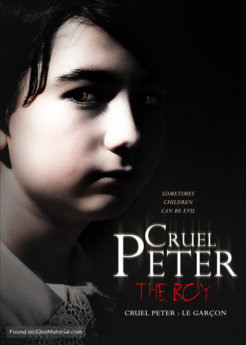 Cruel Peter - Canadian DVD movie cover