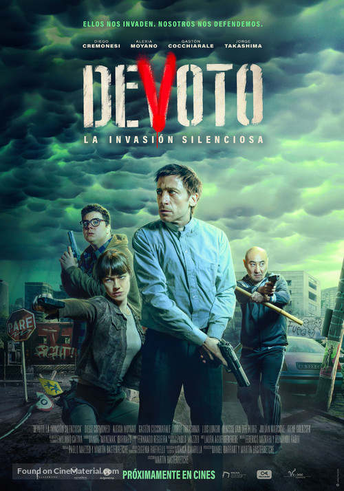 Devoto, la invasión silenciosa - Argentinian Movie Poster