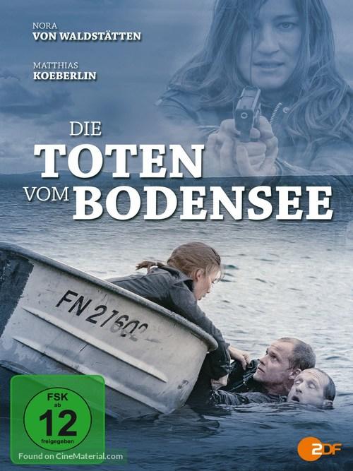 """""""Die Toten vom Bodensee"""" - German DVD movie cover"""