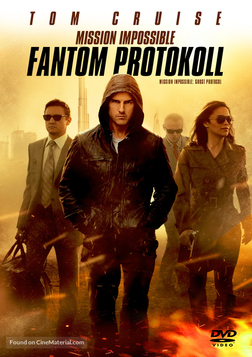 Mission: Impossible - Ghost Protocol - Hungarian DVD movie cover