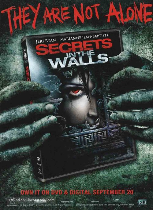 Secrets in the Walls - Video release movie poster