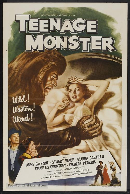 Teenage Monster - Movie Poster