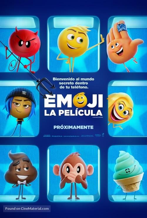 The Emoji Movie - Argentinian Movie Poster