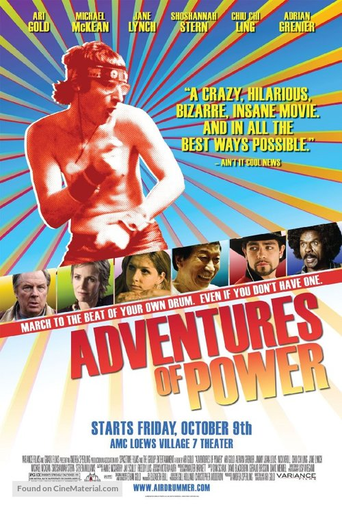 Adventures of Power - Movie Poster