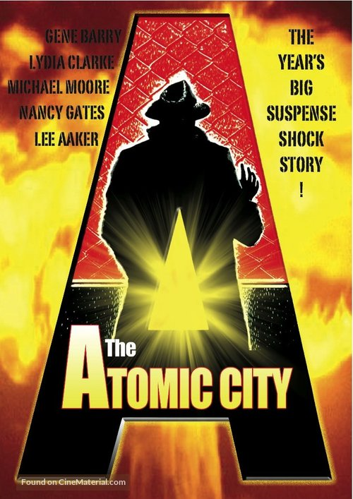 The Atomic City - DVD movie cover