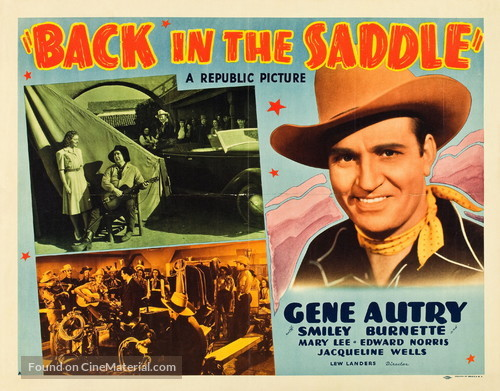 Back in the Saddle - Movie Poster