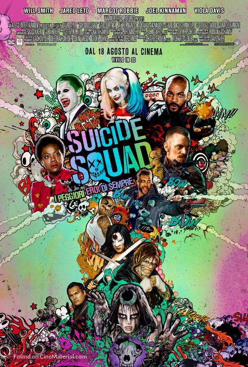 Suicide Squad - Italian Movie Poster