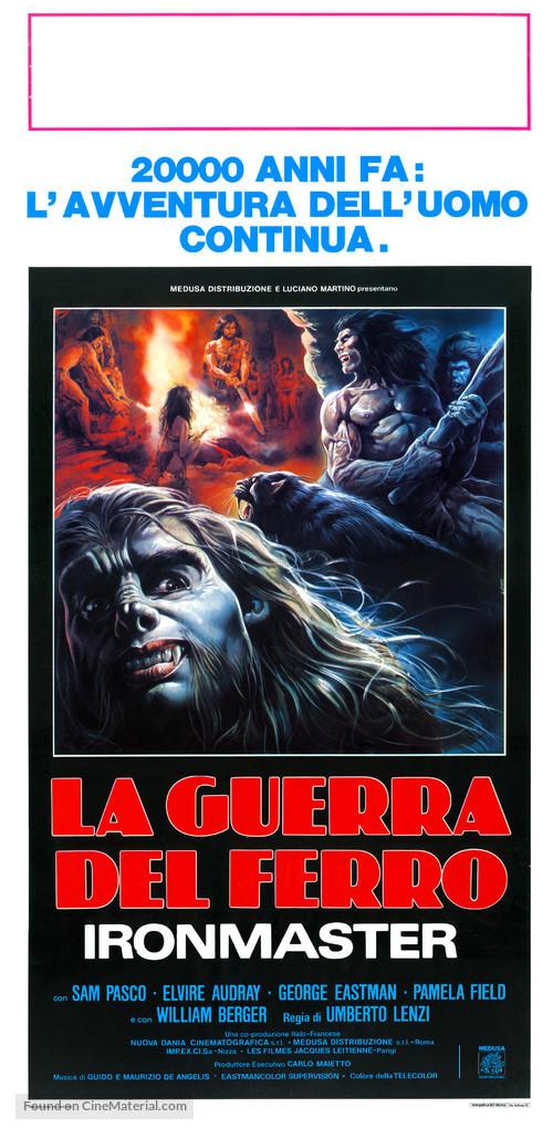 La guerra del ferro - Ironmaster - Italian Movie Poster