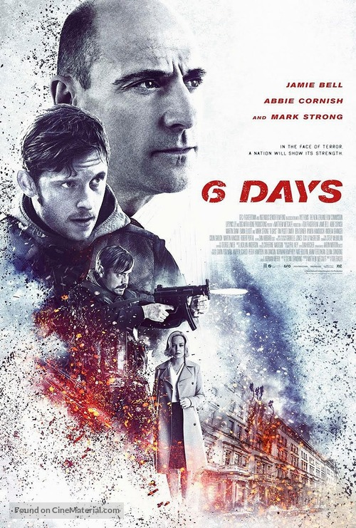 6 Days - New Zealand Movie Poster