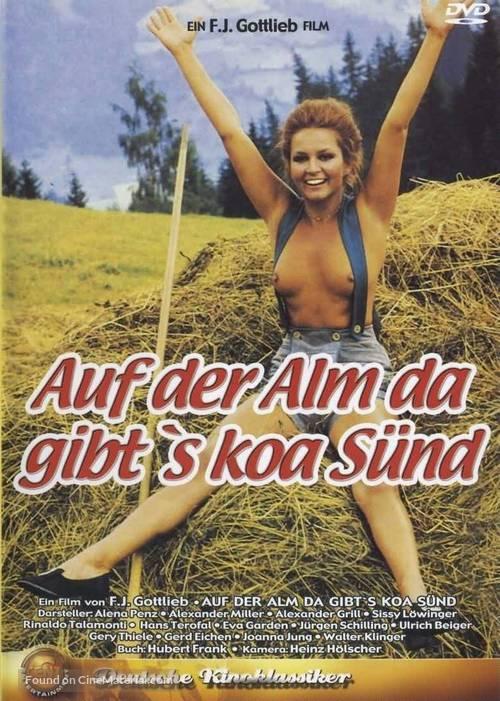 Auf der Alm, da gibt's koa Sünd' - German DVD cover
