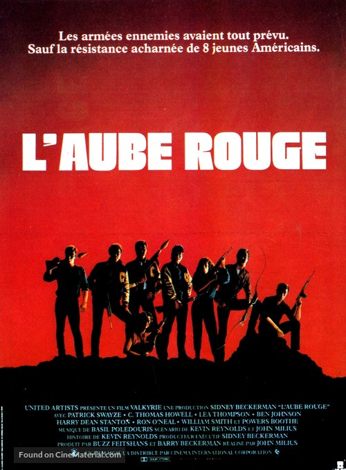 Red Dawn - French Movie Poster