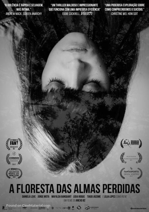 A Floresta das Almas Perdidas - Portuguese Movie Poster
