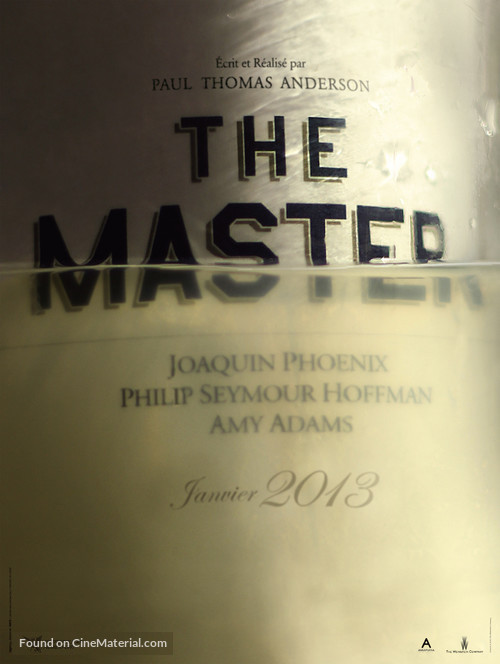 The Master - French Movie Poster