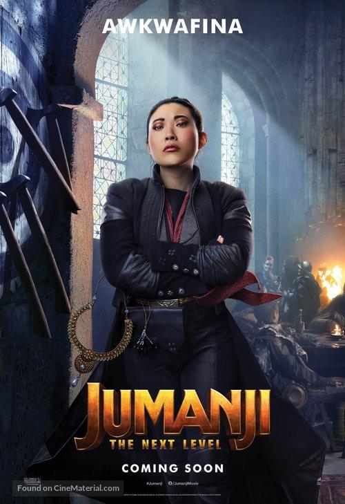 Jumanji: The Next Level - International Movie Poster