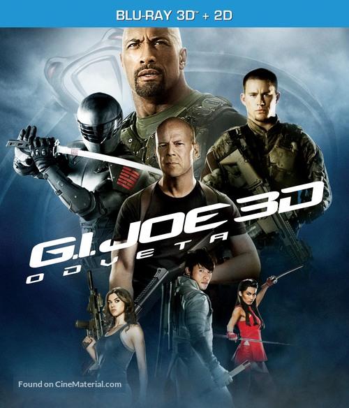 G.I. Joe: Retaliation - Czech Blu-Ray movie cover