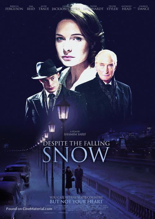 Despite the Falling Snow - British Movie Poster