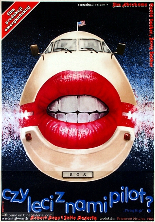 Airplane! - Polish Movie Poster