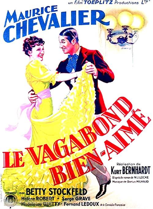 Le vagabond bien-aimé - French Movie Poster