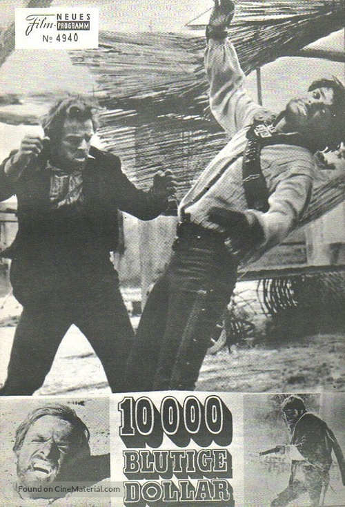 10.000 dollari per un massacro - Austrian poster