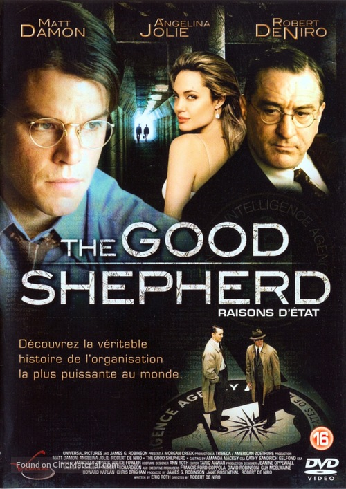 The Good Shepherd - Dutch Movie Cover